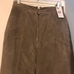 Lafayette 148 NY Suede Skirt